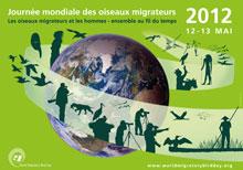 L'affiche Journée mondiale des oiseaux migrateurs 2012