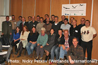 Group photo of the workshop participants / Photo: Nicky Petkov (Wetlands International)