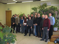 Group picture of the participants of the workshop