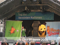 UN Day celebrations on the cities market square in Bonn (Photo: Florian Keil (UNEP/AEWA)