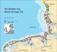 Map of the Wadden Sea World Heritage Site (click to enlarge)