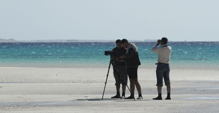 Photo prise sur l'île d'Abu Minqar © Ahmed Waheed