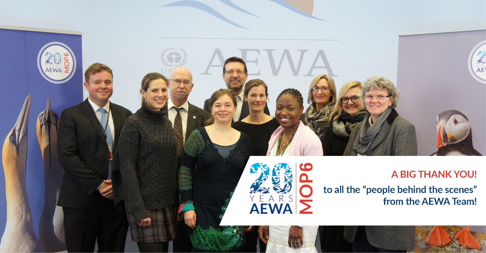 The AEWA secretariat, Bonn, Germany © Aydin Bahramlouian