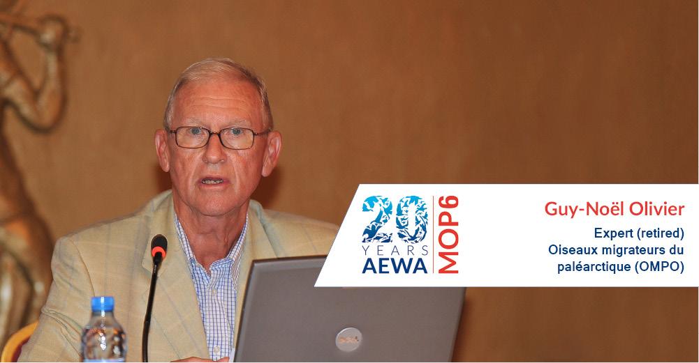People behind AEWA � Guy-No�l Olivier