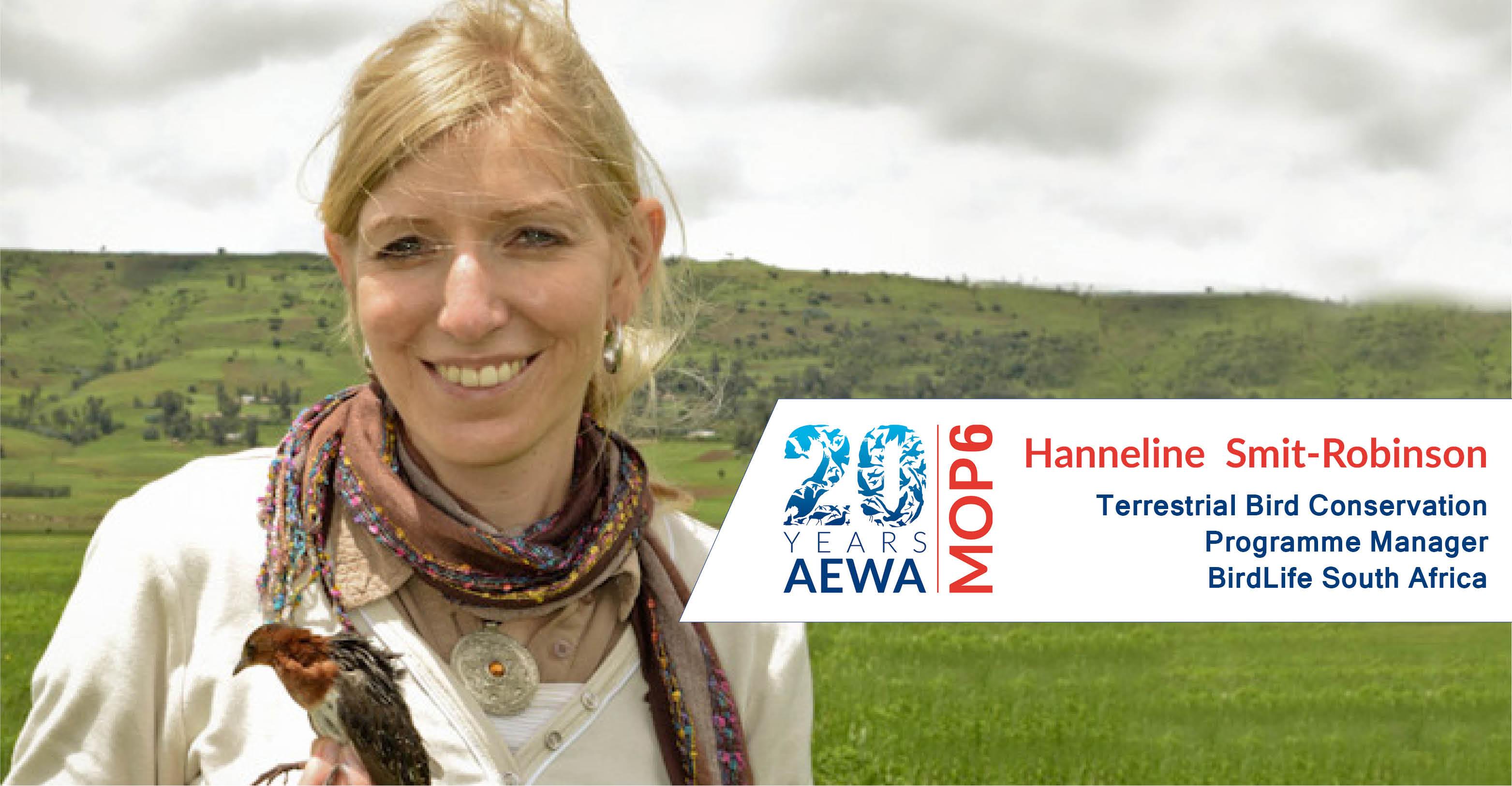 People behind AEWA - Hanneline Smit-Robinson
