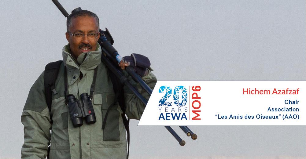People behind AEWA - Hichem Azafzaf