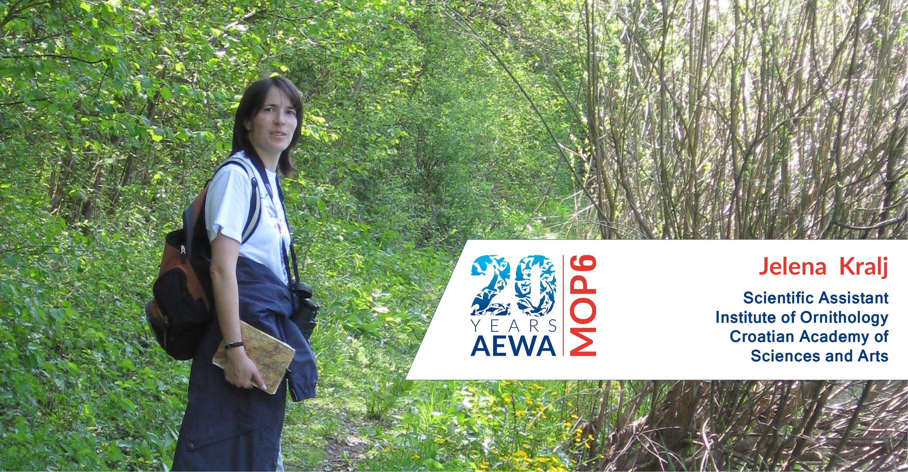 People behind AEWA - Jelena Kralj