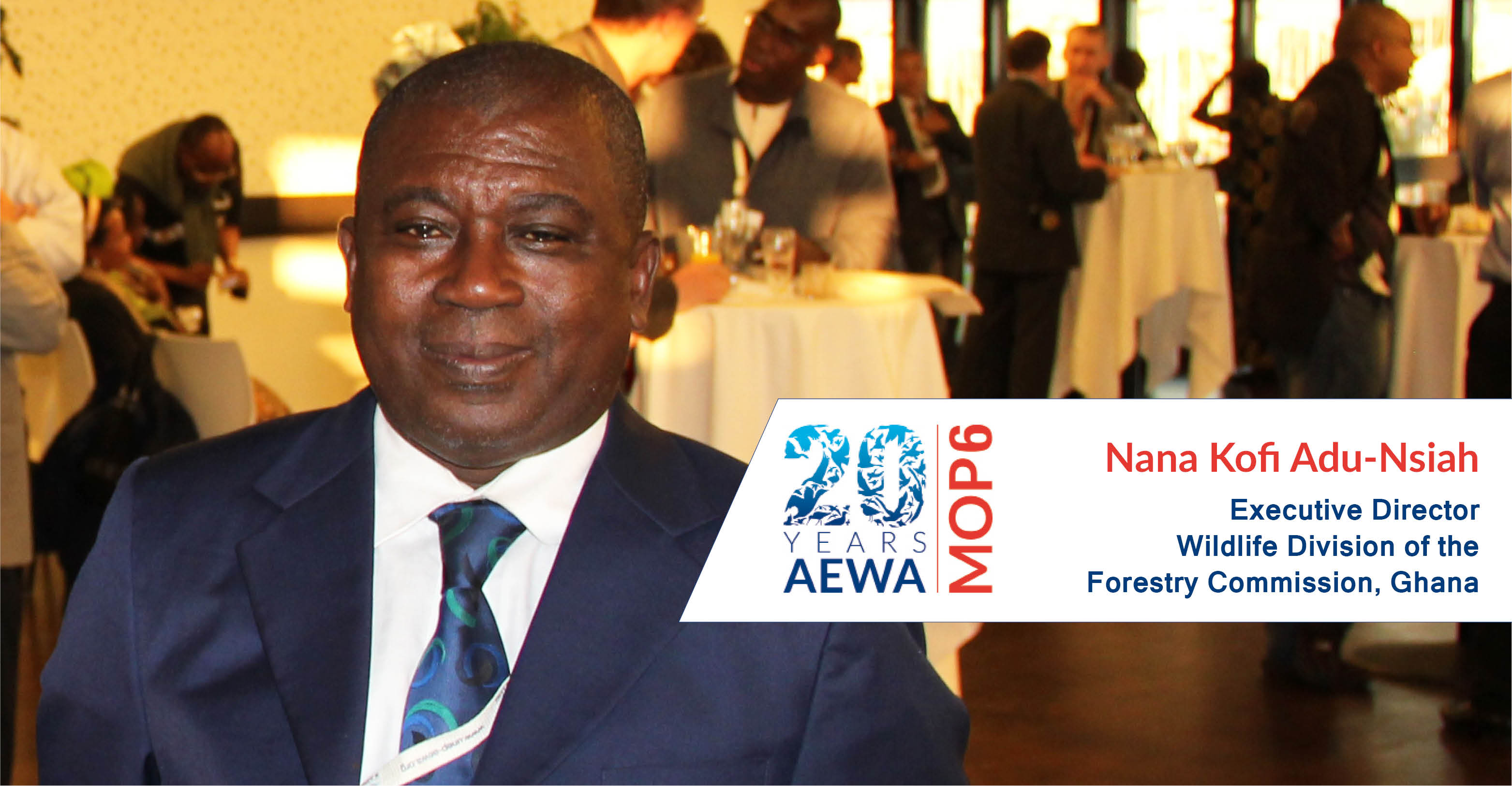 People behind AEWA - Kofi Adu-Nsiah