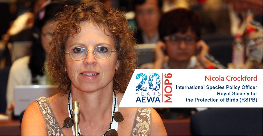 People behind AEWA � Nicola Crockford