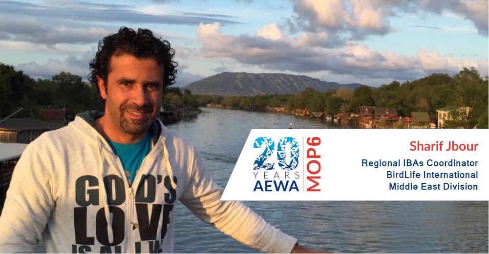People behind AEWA - Sharif Jbour