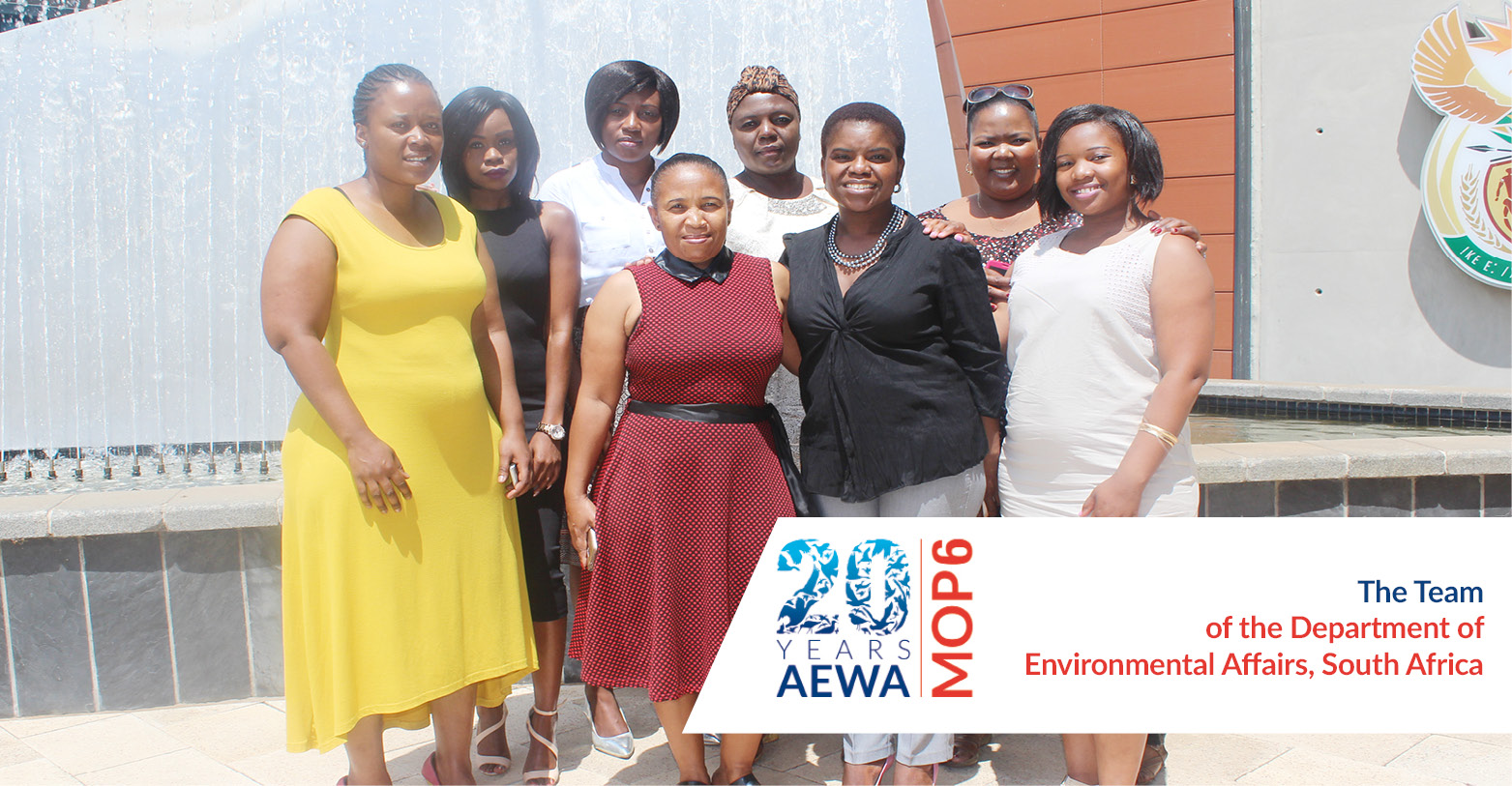 People behind AEWA - The Team of the Department of Environmental Affairs, South Africa