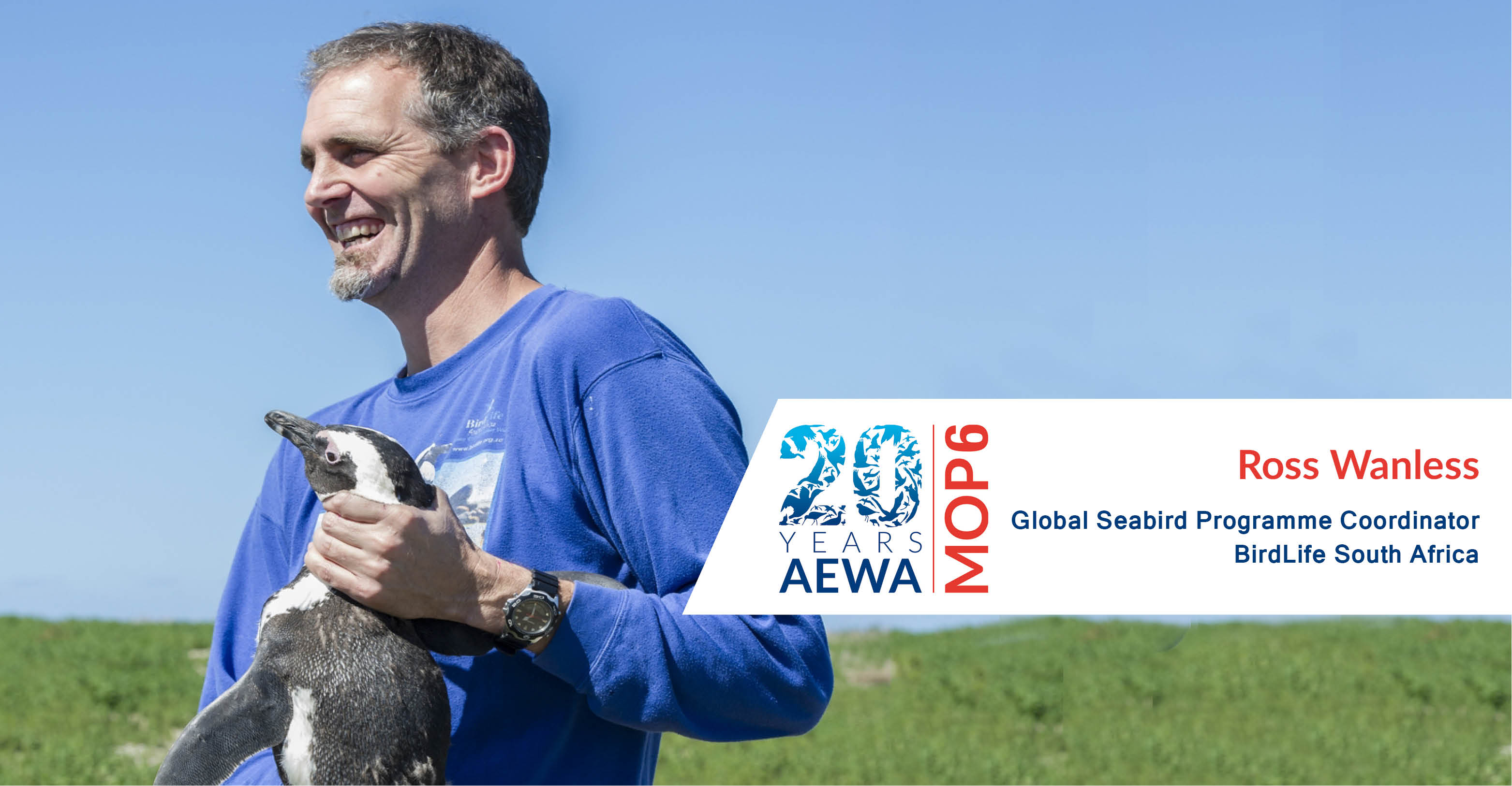 Dr. Ross Wanless, Global Seabird Programme Coordinator, BirdLife South Africa
