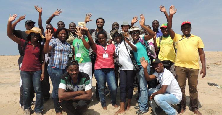 Workshop participants during the field excursion © Tim Dodman
