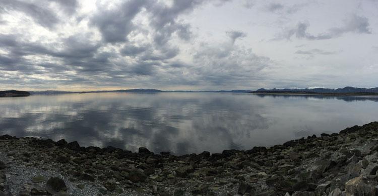 Île Tautra, un site Ramsar situé dans le Trondheimsfjord © Nina Mikander