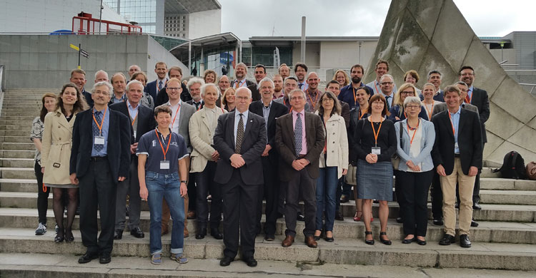 Participants à la réunion sur la Plateforme européenne de gestion des oies © PNUE / AEWA