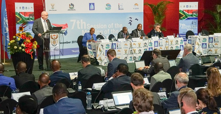 La septième Réunion des Parties (MOP7) de l'Accord sur la conservation des oiseaux d'eau migrateurs d'Afrique-Eurasie (AEWA) s'est tenue du 4 au 8 décembre à Durban, Kwa-Zulu Natal, en Afrique du Sud © Aydin Bahramlouian