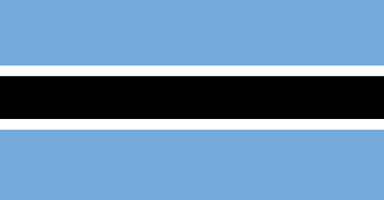 Flag of Botswana