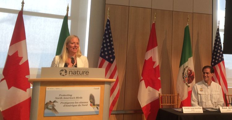 The Hon. Catherine McKenna, Environment Minister of Canada
