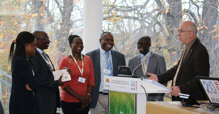 African Wildlife Management Schools Commit to Supporting Waterbird Conservation