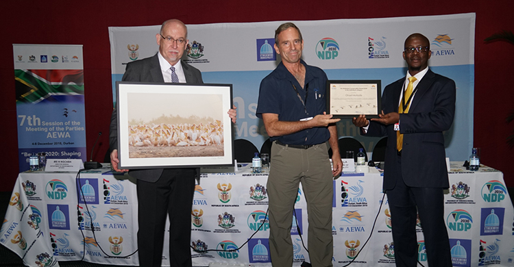 AEWA Conservation Award Presented to Israeli Avian Ecologist