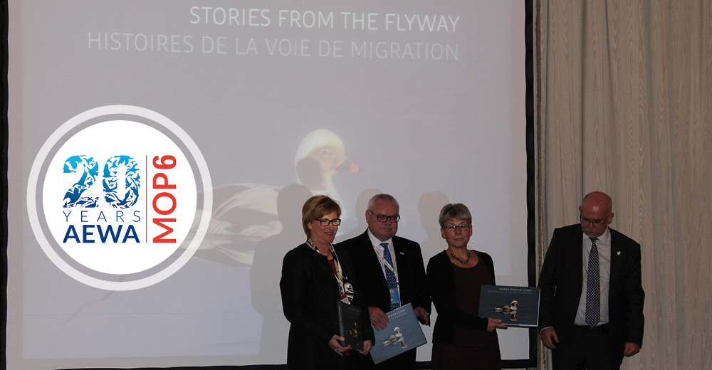 Stunning Collection of Bird Stories Unveiled at AEWA MOP6 Evening Reception