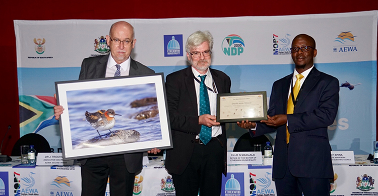 British Ornithologist Declared Honorary Patron of UN Waterbird Agreement