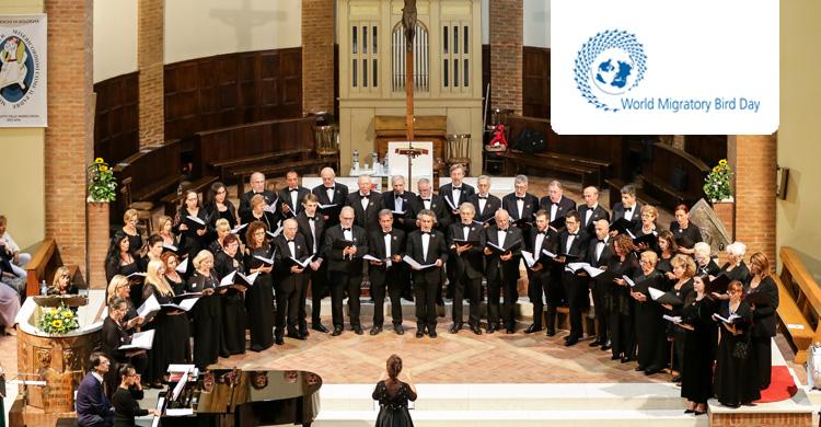 The operatic choir, Corale Lirica San Rocco