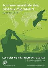 L'affiche Journée Mondiale des Oiseaux Migrateurs 2014