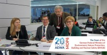 The Team of the German Federal Ministry for the Environment, Nature Protection, Building and Nuclear Safety (BMUB) at the AEWA MOP6 in Bonn, Germany - © Aydin Bahramlouian