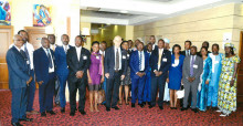 Participants of the consultation workshop in Yaoundé