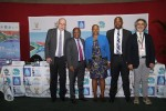 Jacques Trouvilliez (Executive Secretary of AEWA), Sihle Zikalala (South Africa), Nosipho Ngcaba (South Africa), Madlala (South Africa), Fernando Spina (Italy / MOP6 Chair) © Aydin Bahramlouian