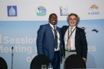 Shonisani Munzhedzi (South Africa / MOP7 Chair) and Fernando Spina (Italy / MOP6 Chair)  © Aydin Bahramlouian