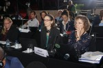 Kelly Malsch (UNEP/WCMC), Victoria Peavoy (Birdlife Int'l), Nicola Crockford (Birdlife Int'l) © Aydin Bahramlouian