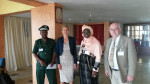Deputy Head of Mission at the Embassy of Switzerland to Senegal, Ms. Rea Gehring, Ms. Ramatoulaye Dieng Ndiaye, Secretary General at the Senegal Ministry of Environment and Sustainable Development and Dr. Jacques Trouvilliez, AEWA's Executive Secretary