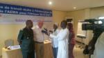 Dr. Jacques Trouvilliez, AEWA's Executive Secretary giving an interview