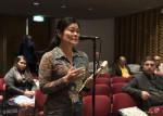 Ms. Tomoko Ichikawa, Communication Officer at the EAAFP Secretariat © EAAFP