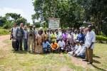 Membres du Comité permanent et du centre d'information sur l'écotourisme de Mabamba © Szabolcs Nagy