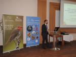 Mr Sergey Dereliev on behalf of the UNEP/AEWA Secretariat © Stefan Ferger, Euronatur