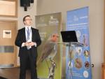 Dr Tilman Schneider, UNEP/CMS Secretariat, presenting © Stefan Ferger, Euronatur