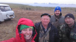 ACBK and Stirling University colleagues in the field © Isabel Jones (Stirling University)