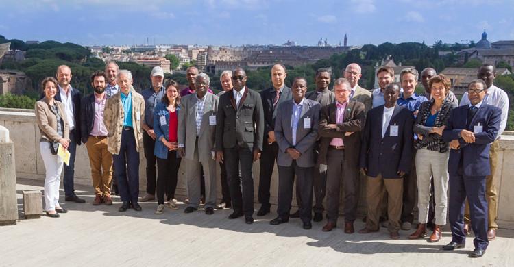 Participants de la réunion © Roberto Cenciarelli/FAO